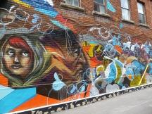 More alleyway graffiti