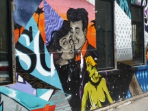 Alleyway graffiti
