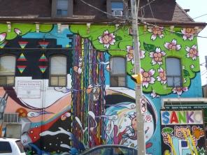 Graffiti on Queen West