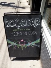 Ron's Cigar Shop: one of the most eclectic shops